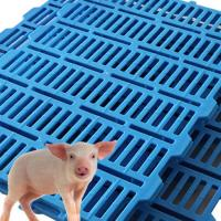 China 600mmx500mm Pig Goat farm Plastic Slat Floor high impact farm equipment on sale