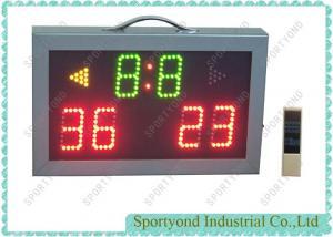 China High School Badminton / Table Tennis Electronic Scoreboard Portable , Aluminum Housing on sale