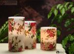 """Rose Decorative Flickering Flameless Led Candles Dia 3"""" x H 4"""""""