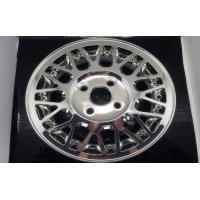 China Siliver High Speed Cnc Machining , Rapid Prototyping Aluminum Car Rim Wheel on sale
