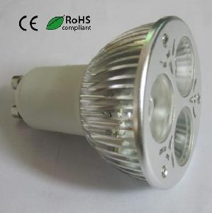 China High Power LED Spot Light (GU10 3X1W) on sale