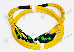 China Male Type MPO MTP Patch Cord , 72 Cores MPO Fiber Jumper Singlemode IEC Standard wholesale