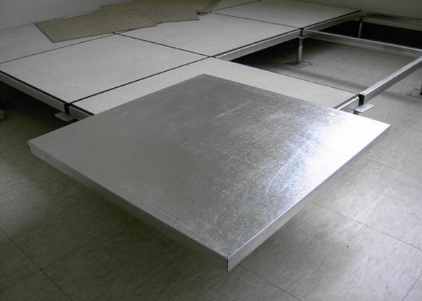 500mm Steel Raised Floor Construction Data Center Floor Tiles 500