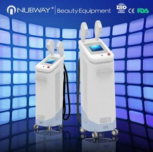China In motion technology fast speed SHR skin rejuvenation and hair removal machine with 16*50mm big spot size on sale
