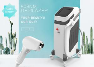 China Pain Free 808nm Diode Laser Hair Removal Home Machine For Face & Body 10 Millions Handle Shots on sale