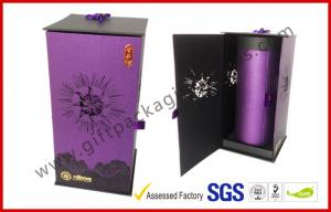 China Handmade Round Gift Packaging Boxes , Revolving Embossed Gift Box on sale