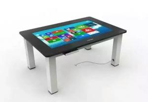 China HD TouchScreen Table Interactive Multi touch Display For Meeting Desk Ordering Machine on sale