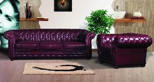 China Leather Sofa (7007) on sale