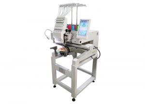 China Small Size Multi Color Embroidery Machine  For Cap Tshirt Flat  Low Noise on sale