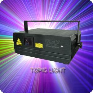 China DJ Equipment DJ Laser Lighting 3W RGB For Clubs / Bars on sale