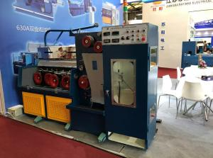China Customized 28DWT Copper Wire Drawing Machine Sell In India Market on sale