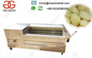 China Electric Potato Peeling Machine High Efficiency Commercial Use /Automati Potato Peeling Machine Price In India on sale