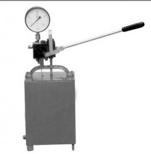 China Hand Hydrostatic test pump 16-1000bar on sale