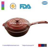 China Cooking Pot Colorful Cast Iron Casserole with Lid Enamel Casserole on sale