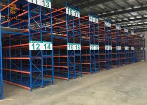 China Adjustable Shelf Height Light Duty Storage Rack / Steel Pallet Shelving Easy Assemble on sale