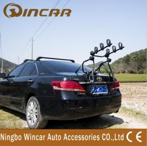 China Car Removable Rear Bike Carrier Universal Car Trailer Black 35KG on sale