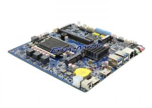 China Intel H110 Chipset 6 COM Ports Industrial Mini ITX Motherboard , LGA1151 micro itx motherboard on sale