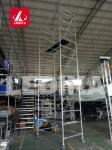 Folding Step Bench Working Platform Aluminum Alloy 6082 T6 Protable Work Bench