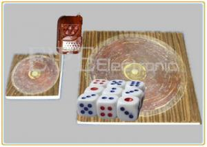 China Custom Dice Gambling Games Remote Control Dice With Electronic Microchip on sale