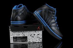 China Jordan Pro Classic shoes 363141 041 black blue on sale