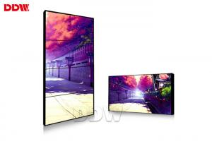 China Wall Mounted 1.8 Mm DDW LCD Video Wall Built In Splicing Module Function on sale