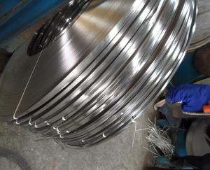 China High Hardness 440A 440C Stainless Steel Metal Strips / Stainless Steel Slit Coils Thickness 0.1 - 3.0mm on sale