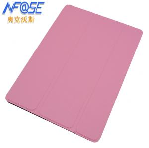 China Book Style Folio Leather iPad Case with Stand Microfibre Protection , Luxury on sale