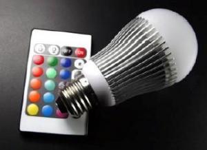 China 4W E27 RGB LED Bulb Light on sale