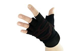 China Black Arthritis Wrist Compression Sleeve Braethable Soft Wrist Support Bandage on sale
