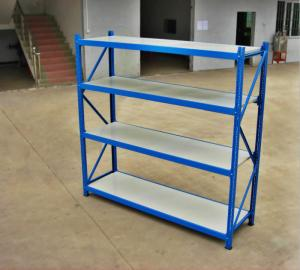 China Cold Rolling Steel Raw Materials Long Span Racking , Light Duty Rack on sale