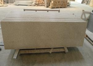 China Yellow Granite Stone Tiles 2700kg / M³ Granite Density 20 / 30mm Thick on sale