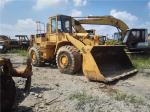 966E Used CAT Loaders , 24V Compact Wheel Loader 4 Forward / Reverse Gears