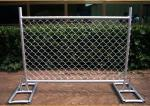 Cross Brace Chain Link Temporary Fencing Hot Galvanized