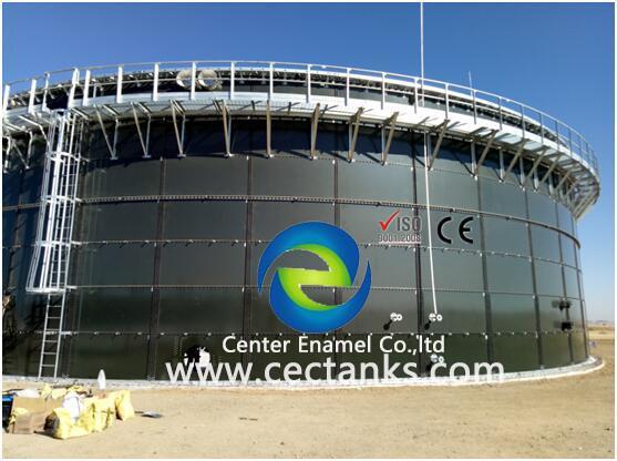 Enamel / GFS / GLS Vertical Glass Fused Steel Tanks More