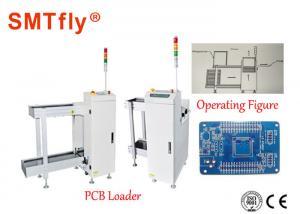 China Fully Automated SMT Smt Magazine Loader , White PCB Destacker 350*250mm on sale