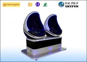 China Dynamic Seats 9D Egg VR Cinema / Simulator With 5 Special Effects CE Approved on sale
