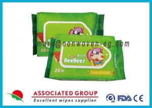 China Reusable Biodegradable Wet Wipes Water Baby Wet Tissue Without Alcohol on sale