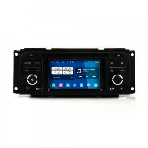 China 4.3 android car DVD GPS android 4.4.4 HD 1024*600 fo Chrysler/jeep/ with 4 Core CPU, Mirror link on sale