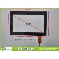 Customizable 7.0 Inch Projected Capacitive Touch Panel Multi Finger
