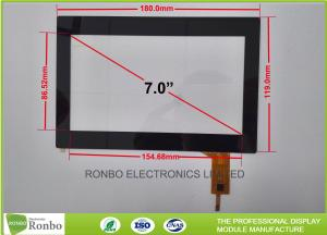 China Customizable 7.0 Inch Projected Capacitive Touch Panel Multi Finger on sale