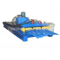 China Bamboo Type Colored Glazed Roofing Tile Roll Forming Making Machine on sale