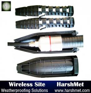 """China gel seal enclosure for 1/2"""" Jumper to Antenna Weatherproofing at 3G, 4G Cellular Towers on sale"""