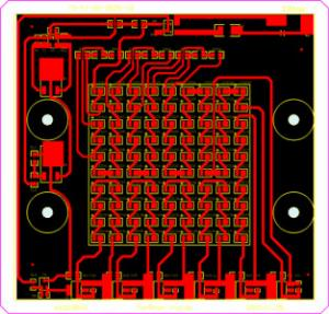 China High Frequency PCB for LED Driver PCB with Simple Printed Circuit Board on sale