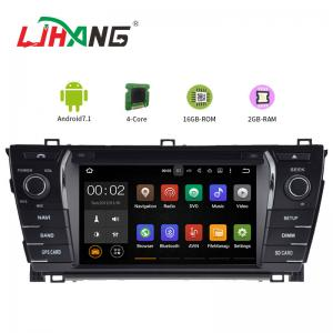 China 7 Inch Touch Screen AM FM Toyota Car DVD Player Multi - Language Supported on sale