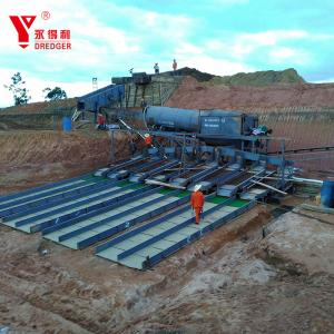 China Flexible Structure Gold Washing Plant Screening Plant Gold Mining Screens on sale