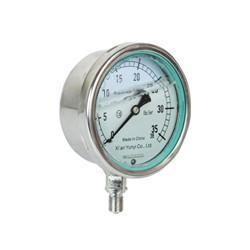 China liquid filled pressure gauge on sale