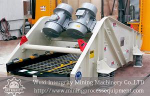 China Mining Dewatering Vibrating Screen For Iron Ore Processing Plant on sale
