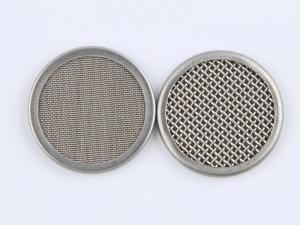 China 316 Stainless Steel Wire Mesh Filter Disc1-635 Mesh For Plastic Extruder on sale