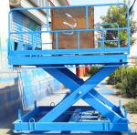 5000kg Loading Capacity 2M Lifting Height Cargo Lift Table Supplied by Tavol Machinery