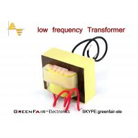 Linear EI66 Low Frequency Transformer 50 / 60Hz Lead Wire Terminal Silicon Lamination